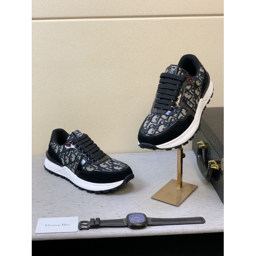Replica Christian Dior Casual Shoes For Men #855937 $80.00 USD for Wholesale
