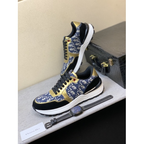 Christian Dior Casual Shoes For Men #855939 $80.00 USD, Wholesale Replica Christian Dior Casual Shoes