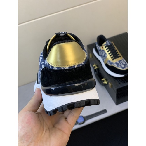 Replica Christian Dior Casual Shoes For Men #855939 $80.00 USD for Wholesale