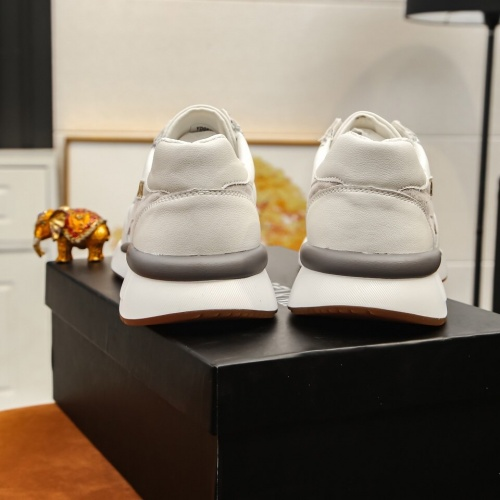 Replica Armani Casual Shoes For Men #855942 $82.00 USD for Wholesale