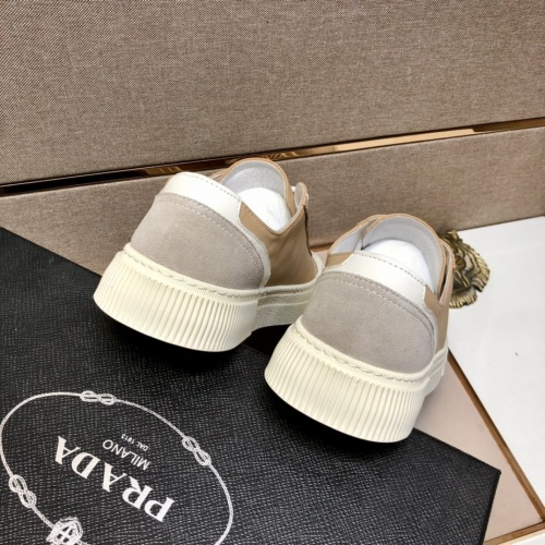 Replica Prada Casual Shoes For Men #855960 $85.00 USD for Wholesale