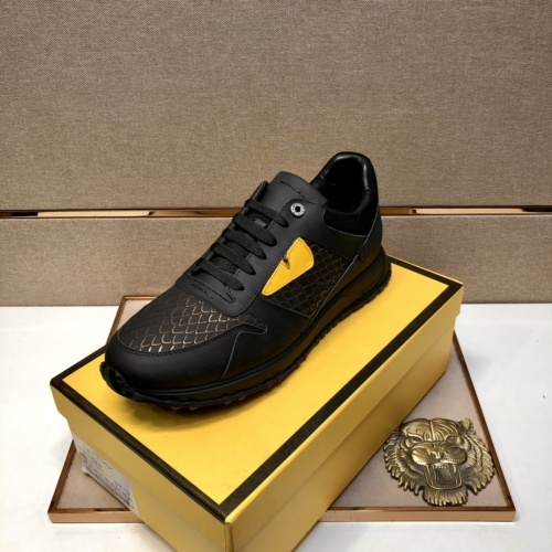 Replica Fendi Casual Shoes For Men #855964 $92.00 USD for Wholesale