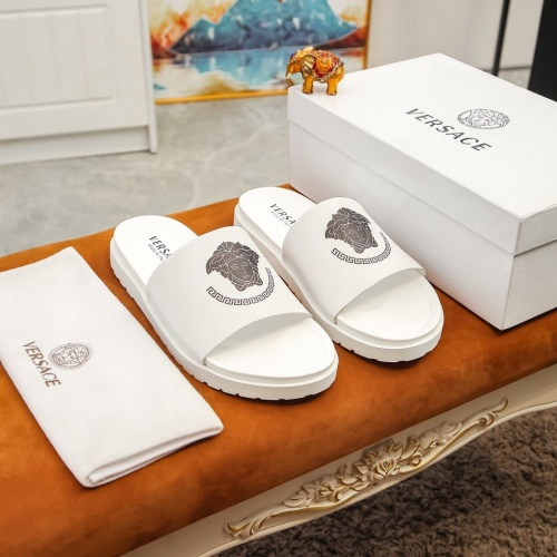 Versace Slippers For Men #855970 $48.00, Wholesale Replica Versace Slippers