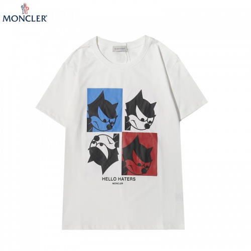 Moncler T-Shirts Short Sleeved For Men #856149