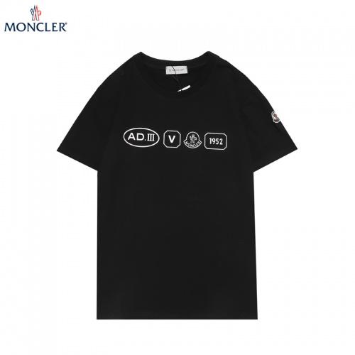 Moncler T-Shirts Short Sleeved For Men #856151