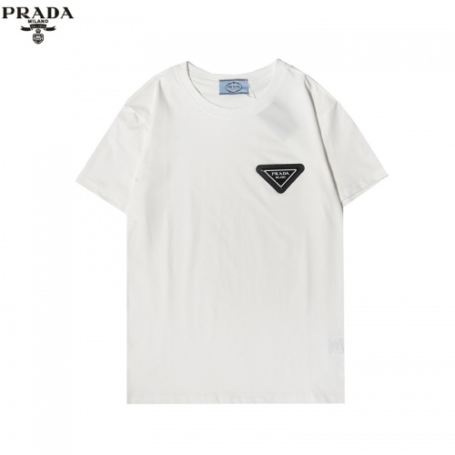 Prada T-Shirts Short Sleeved For Men #856213