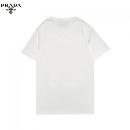 Replica Prada T-Shirts Short Sleeved For Men #856213 $27.00 USD for Wholesale