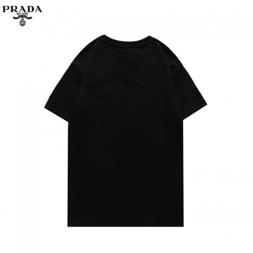 Replica Prada T-Shirts Short Sleeved For Men #856214 $27.00 USD for Wholesale