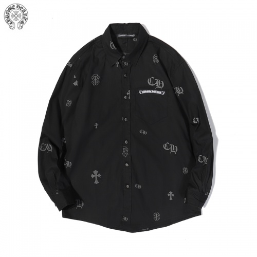 Chrome Hearts Shirts Long Sleeved For Men #856267