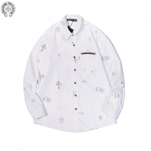 Chrome Hearts Shirts Long Sleeved For Men #856268