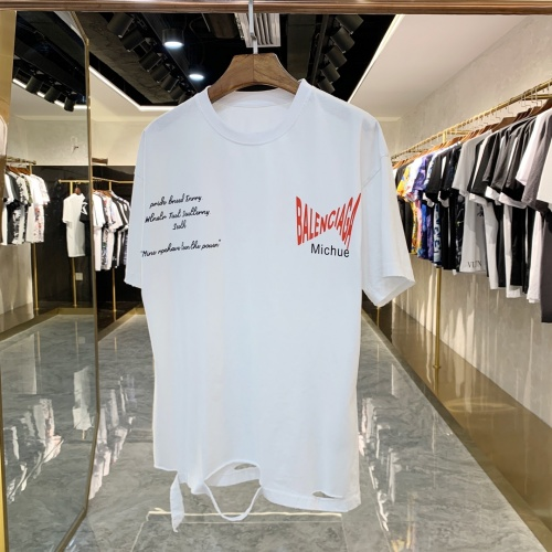 Balenciaga T-Shirts Short Sleeved For Men #856393
