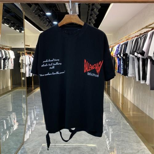Balenciaga T-Shirts Short Sleeved For Men #856394