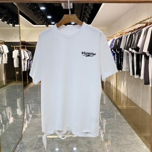 Balenciaga T-Shirts Short Sleeved For Men #856395