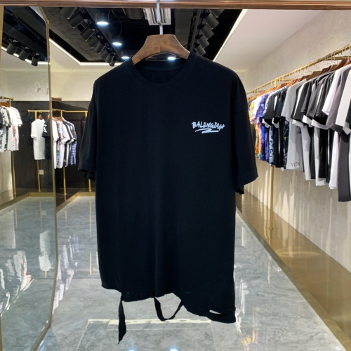 Balenciaga T-Shirts Short Sleeved For Men #856396
