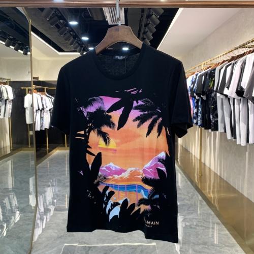 Balmain T-Shirts Short Sleeved For Men #856397