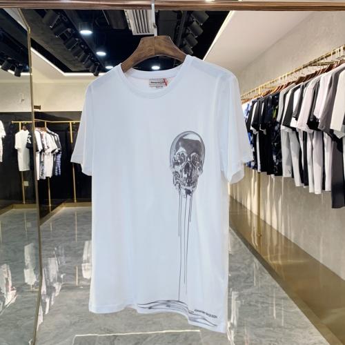 Alexander McQueen T-shirts Short Sleeved For Men #856411