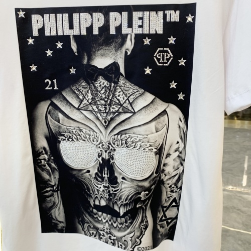 Replica Philipp Plein PP T-Shirts Short Sleeved For Men #856414 $41.00 USD for Wholesale