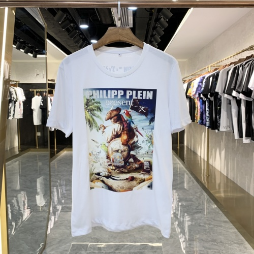 Philipp Plein PP T-Shirts Short Sleeved For Men #856416 $41.00 USD, Wholesale Replica Philipp Plein PP T-Shirts