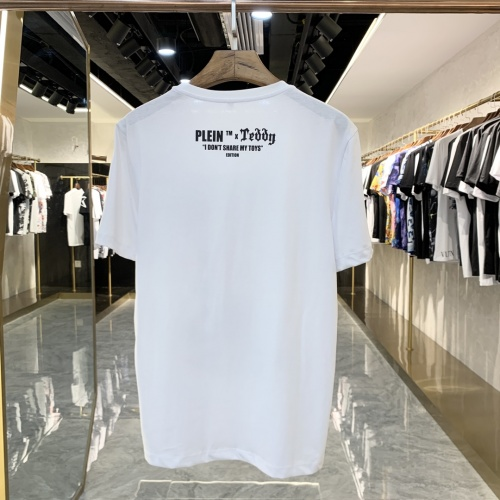Replica Philipp Plein PP T-Shirts Short Sleeved For Men #856416 $41.00 USD for Wholesale
