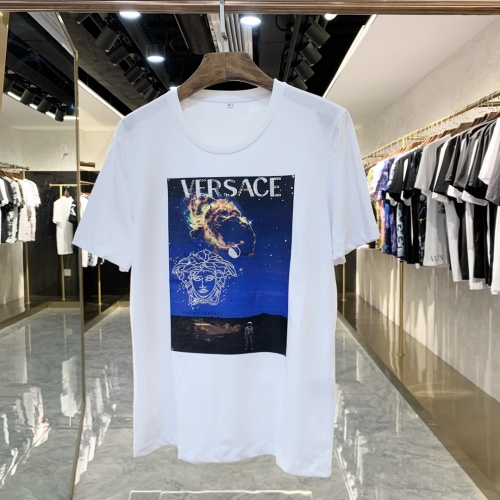 Versace T-Shirts Short Sleeved For Men #856420 $41.00, Wholesale Replica Versace T-Shirts