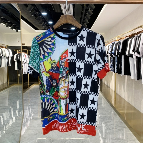 Dolce & Gabbana D&G T-Shirts Short Sleeved For Men #856426 $41.00, Wholesale Replica Dolce & Gabbana D&G T-Shirts