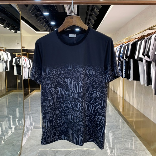 Christian Dior T-Shirts Short Sleeved For Men #856427 $41.00 USD, Wholesale Replica Christian Dior T-Shirts