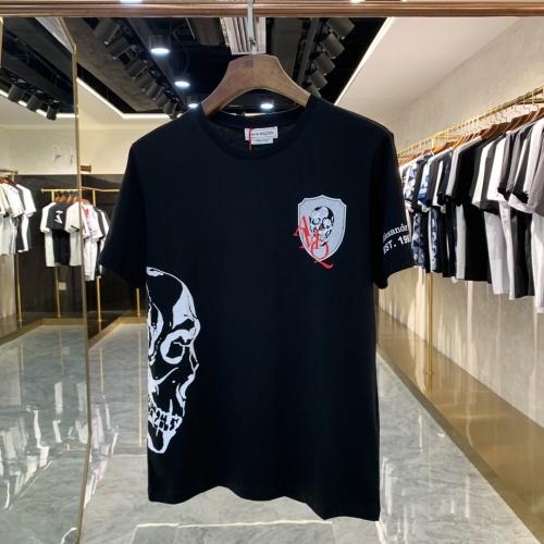 Alexander McQueen T-shirts Short Sleeved For Men #856428 $41.00 USD, Wholesale Replica Alexander McQueen T-shirts