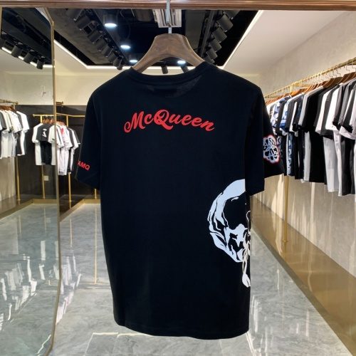 Replica Alexander McQueen T-shirts Short Sleeved For Men #856428 $41.00 USD for Wholesale