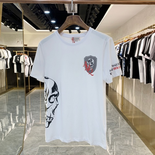 Alexander McQueen T-shirts Short Sleeved For Men #856429