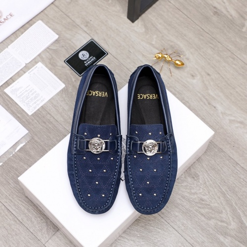 Versace Casual Shoes For Men #856504 $68.00, Wholesale Replica Versace Casual Shoes