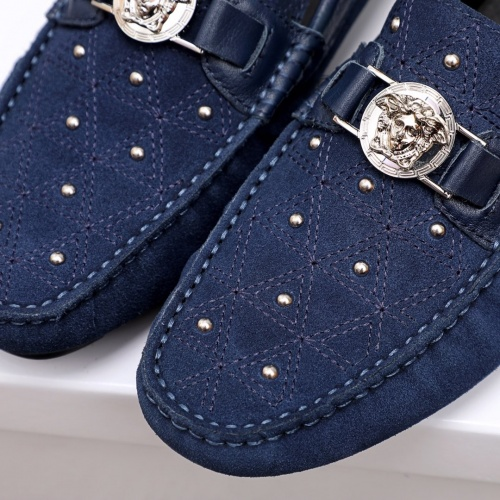 Replica Versace Casual Shoes For Men #856504 $68.00 USD for Wholesale