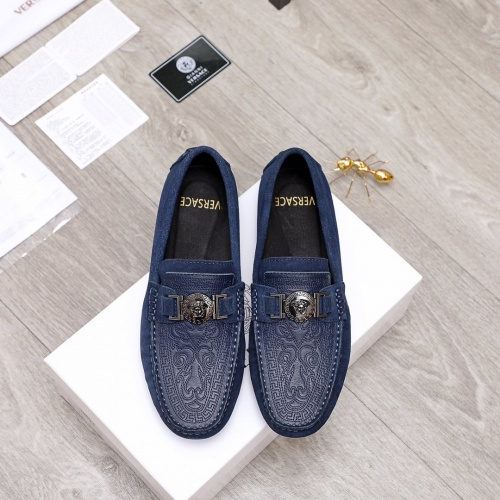 Versace Casual Shoes For Men #856507 $68.00, Wholesale Replica Versace Casual Shoes