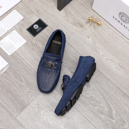 Replica Versace Casual Shoes For Men #856507 $68.00 USD for Wholesale
