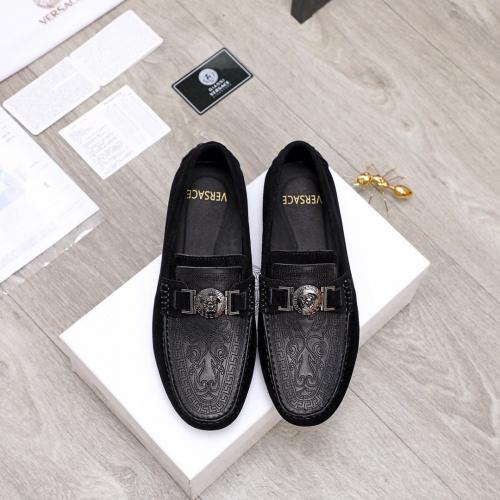 Versace Casual Shoes For Men #856508 $68.00, Wholesale Replica Versace Casual Shoes
