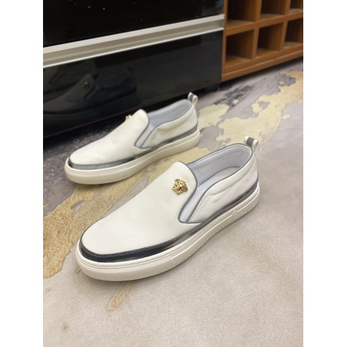 Replica Versace Casual Shoes For Men #856516 $68.00 USD for Wholesale