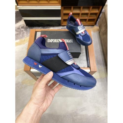Armani Casual Shoes For Men #856522 $80.00 USD, Wholesale Replica Armani Casual Shoes