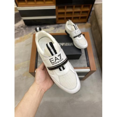 Replica Armani Casual Shoes For Men #856524 $80.00 USD for Wholesale