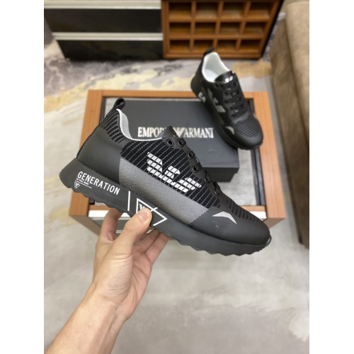 Armani Casual Shoes For Men #856525 $80.00 USD, Wholesale Replica Armani Casual Shoes
