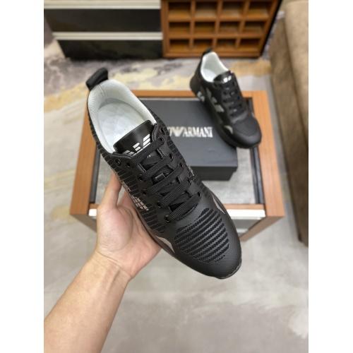 Replica Armani Casual Shoes For Men #856525 $80.00 USD for Wholesale