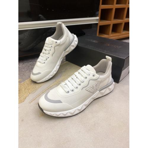Replica Armani Casual Shoes For Men #856526 $80.00 USD for Wholesale