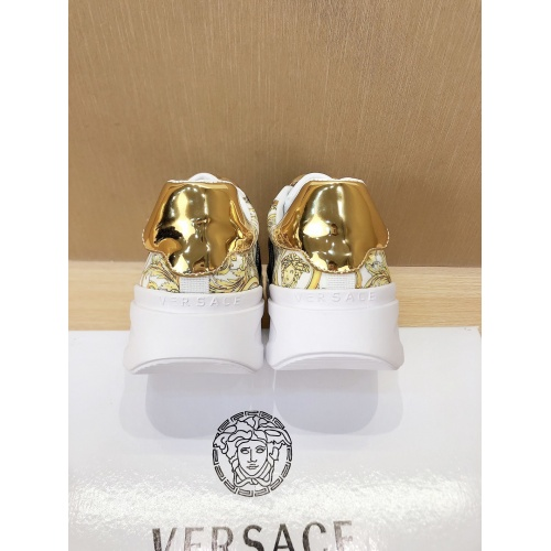 Replica Versace Casual Shoes For Men #856543 $76.00 USD for Wholesale