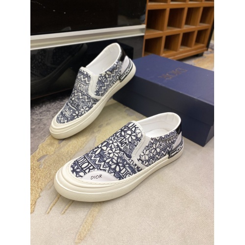 Christian Dior Casual Shoes For Men #856545 $72.00 USD, Wholesale Replica Christian Dior Casual Shoes
