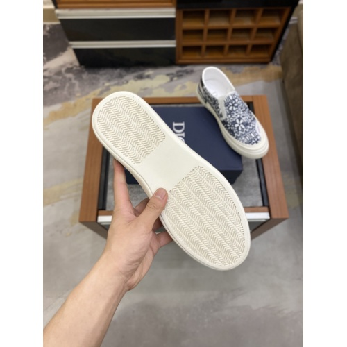 Replica Christian Dior Casual Shoes For Men #856545 $72.00 USD for Wholesale