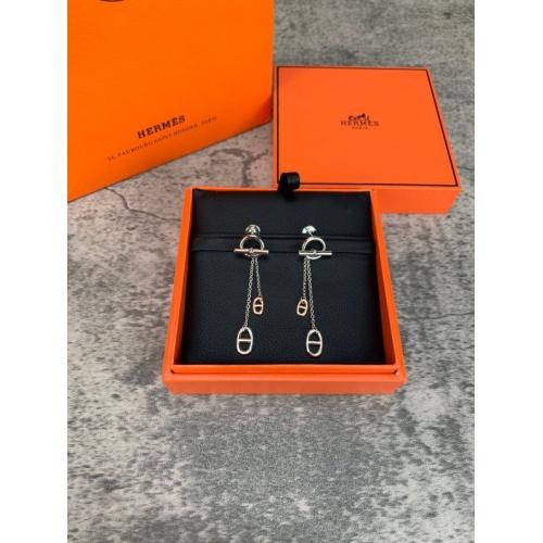 Hermes Earrings #856661 $40.00 USD, Wholesale Replica Hermes Earrings