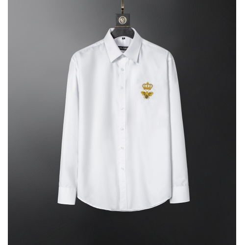 Dolce & Gabbana D&G Shirts Long Sleeved For Men #856687