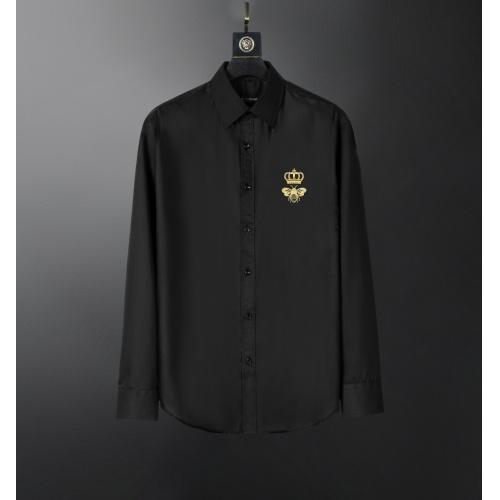 Dolce & Gabbana D&G Shirts Long Sleeved For Men #856688 $38.00 USD, Wholesale Replica Dolce & Gabbana D&G Shirts