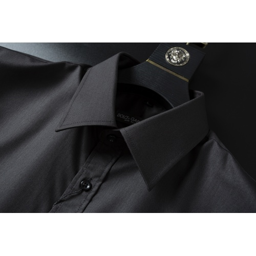 Replica Dolce & Gabbana D&G Shirts Long Sleeved For Men #856689 $38.00 USD for Wholesale