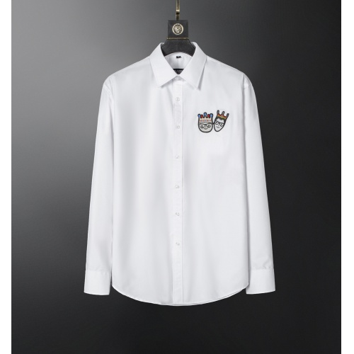 Dolce & Gabbana D&G Shirts Long Sleeved For Men #856690