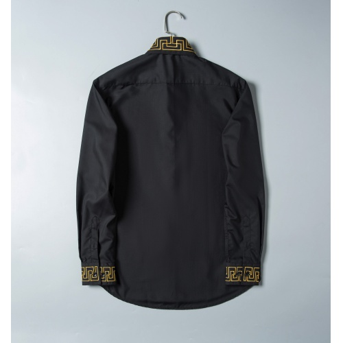 Replica Versace Shirts Long Sleeved For Men #856698 $38.00 USD for Wholesale