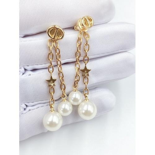 Christian Dior Earrings #856712 $29.00 USD, Wholesale Replica Christian Dior Earrings
